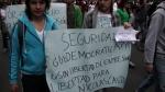 Marchas por Nicolas Castro, libertades democraticas, marchas en Bogota